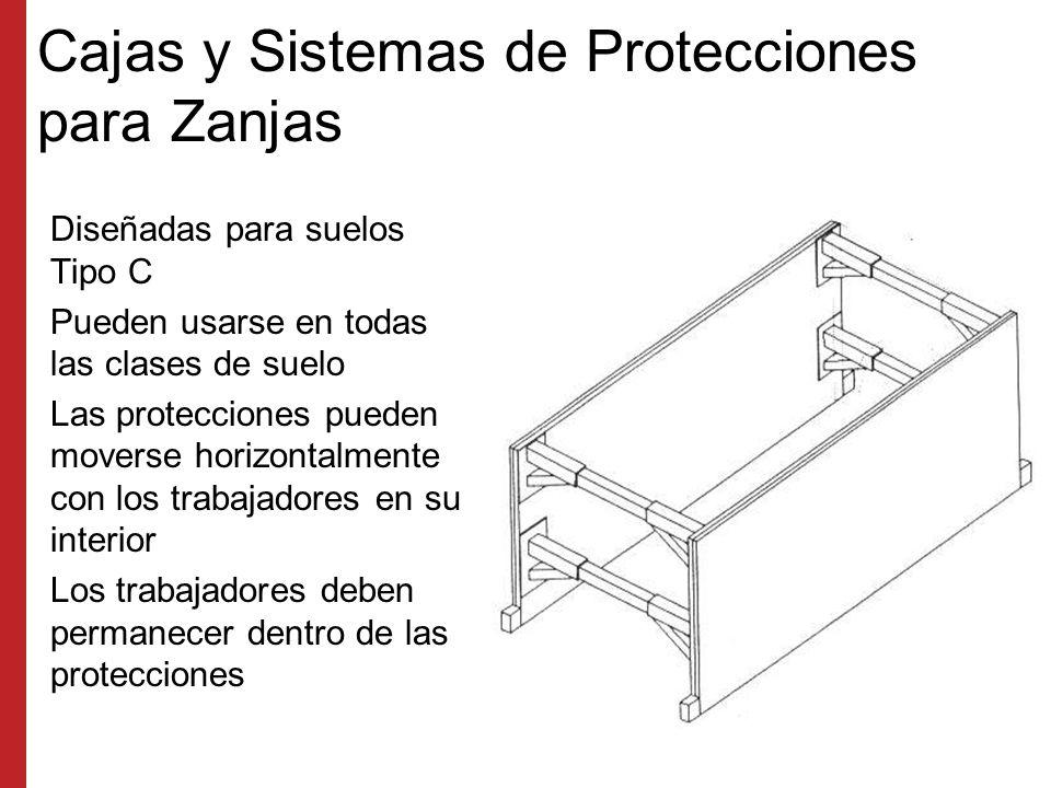Cajas y Sistemas de Protecciones para Zanjas