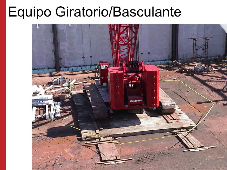 Equipo Giratorio/Basculante