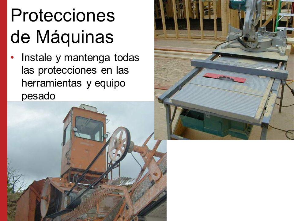 Protecciones de Máquinas