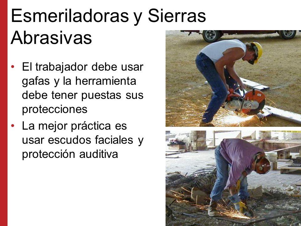 Esmeriladoras y Sierras Abrasivas