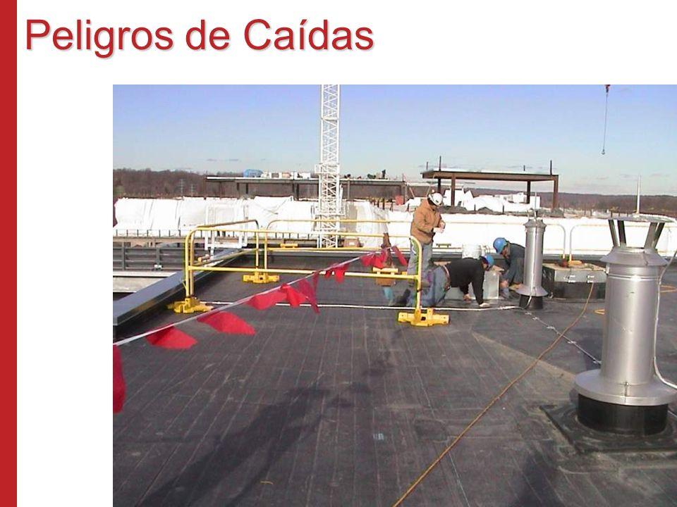Peligros de Caídas Programa de Capacitación Susan Harwood (2006) Los Cuatro Riesgos Principales en la Industria de la Construcción.