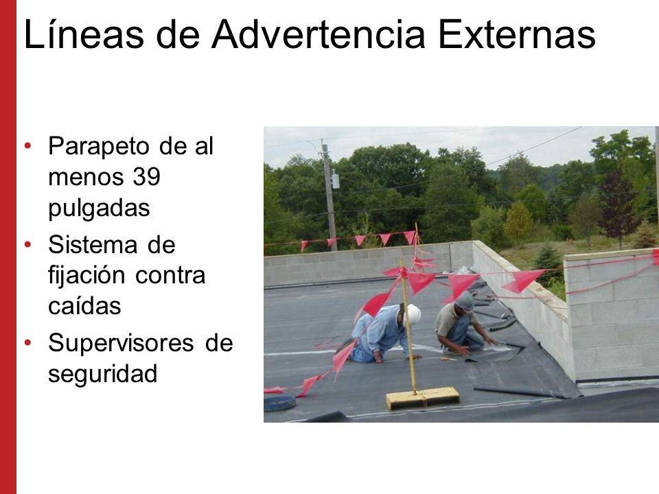 Líneas de Advertencia Externas