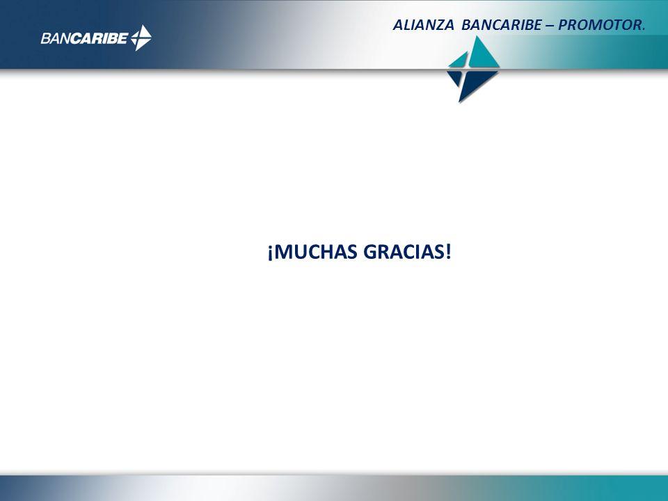 ALIANZA BANCARIBE – PROMOTOR.