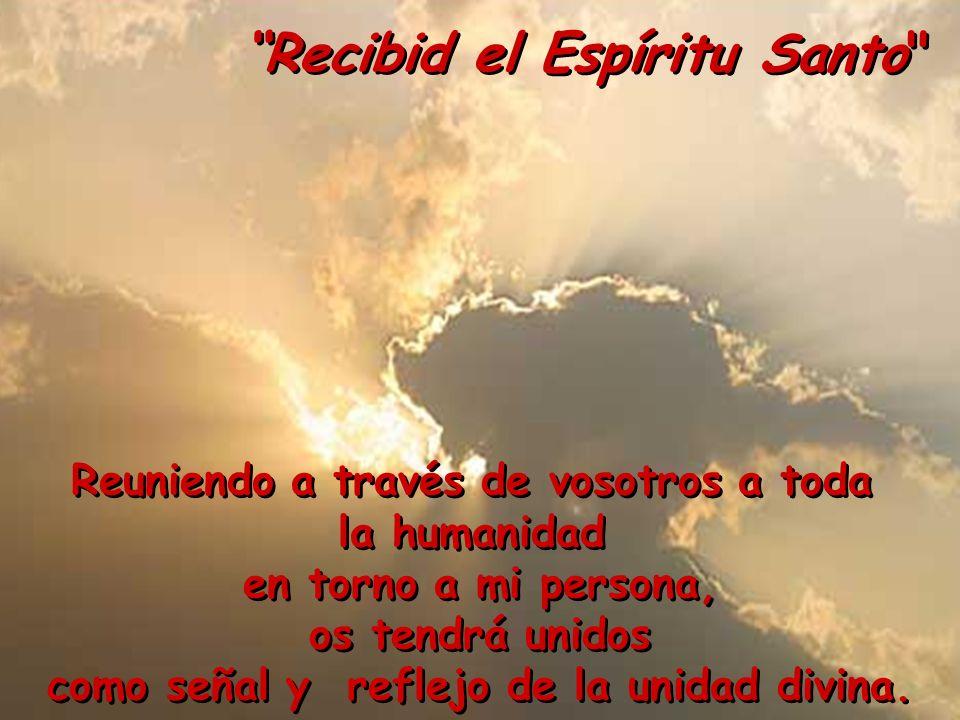 Recibid el Espíritu Santo