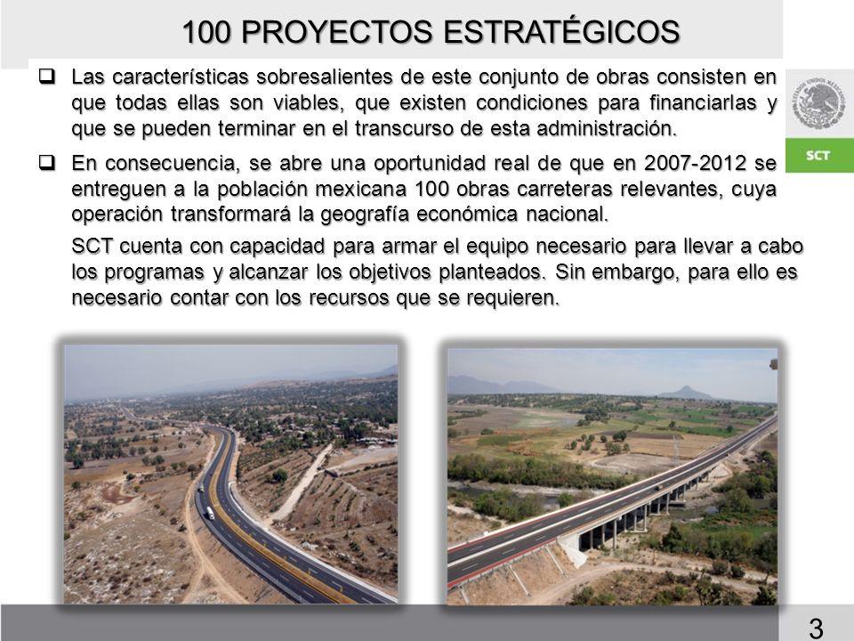 100 PROYECTOS ESTRATÉGICOS