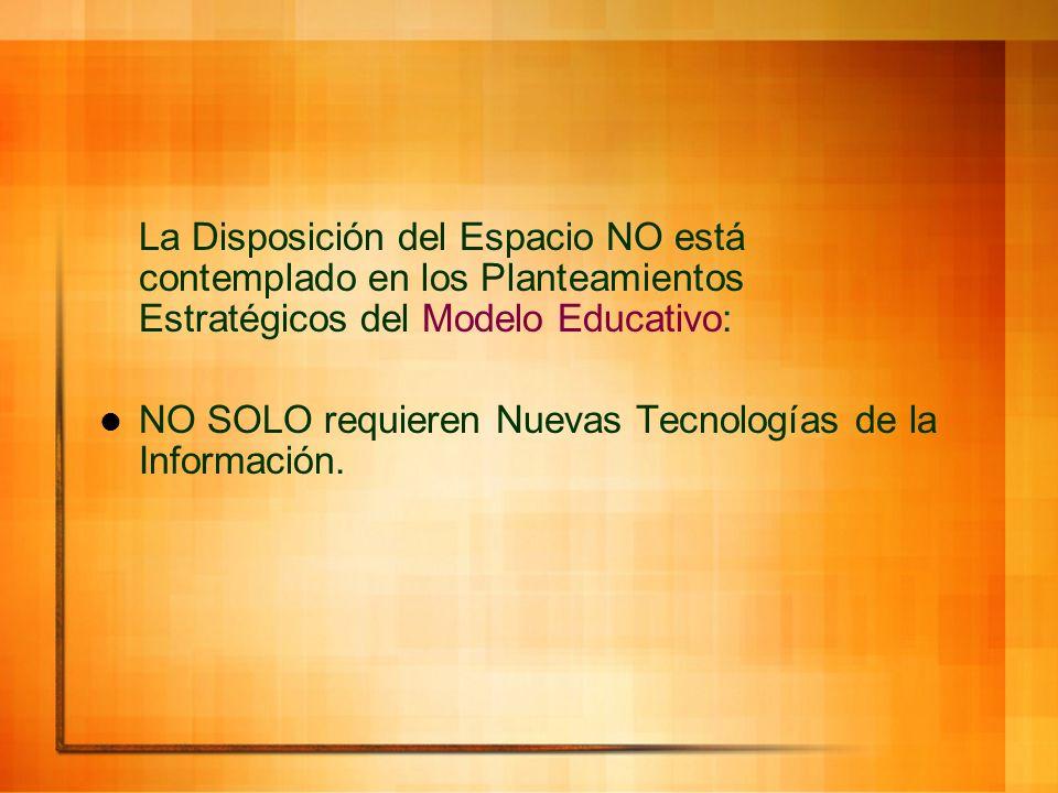 NO SOLO requieren Nuevas Tecnologías de la Información.