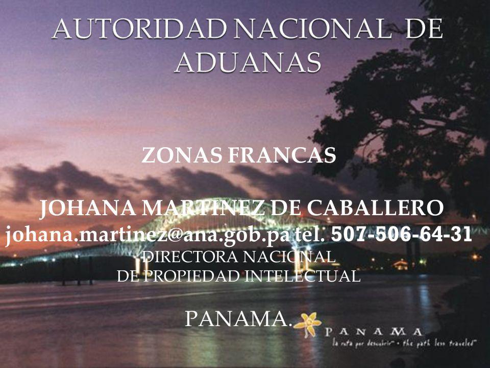 AUTORIDAD NACIONAL DE ADUANAS