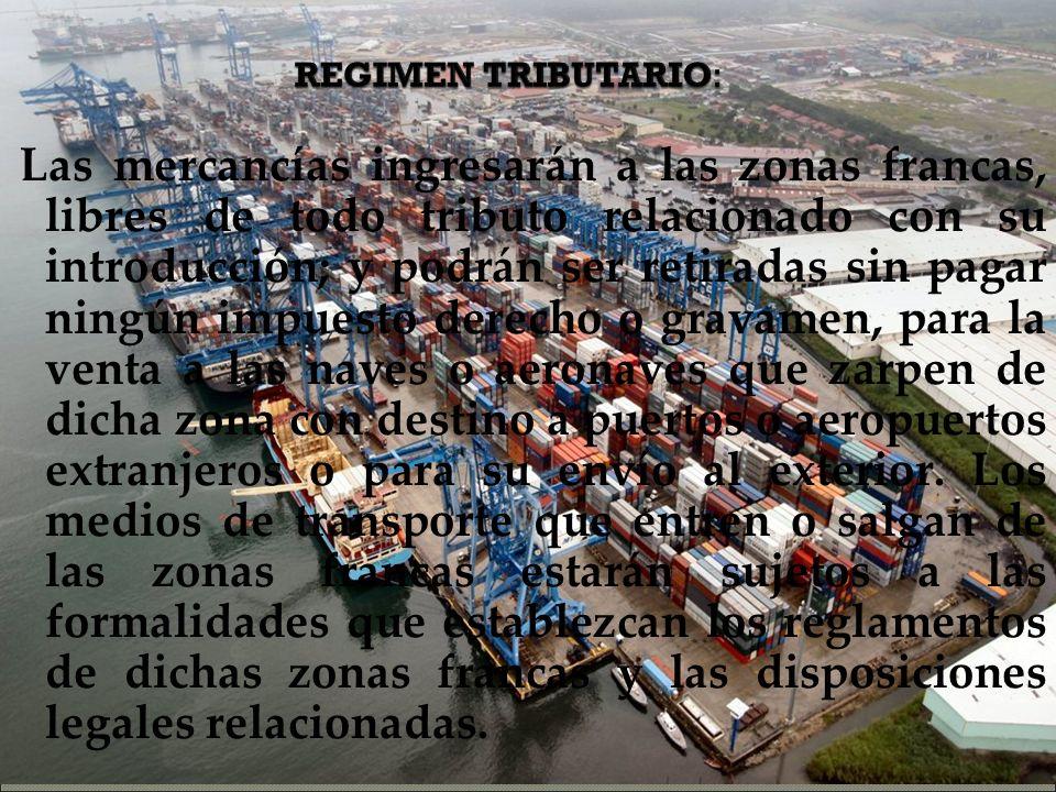 REGIMEN TRIBUTARIO: