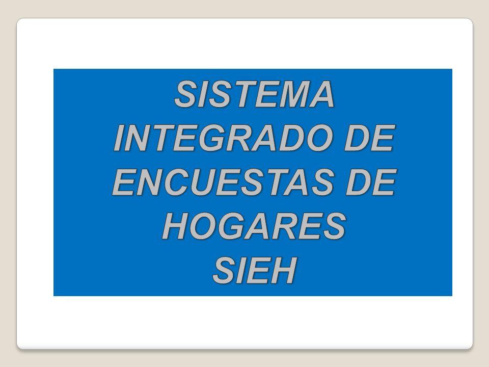 SISTEMA INTEGRADO DE ENCUESTAS DE HOGARES