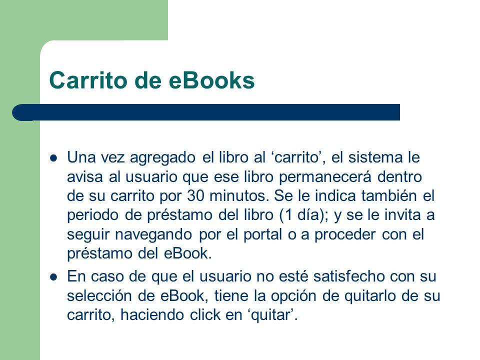 Carrito de eBooks