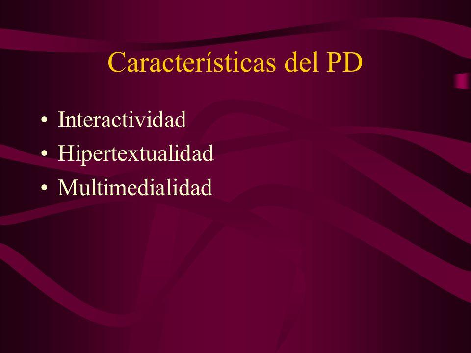 Características del PD