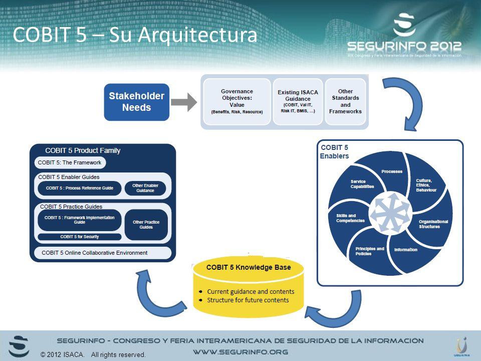 COBIT 5 – Su Arquitectura