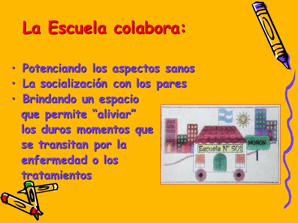 La Escuela colabora: Potenciando los aspectos sanos