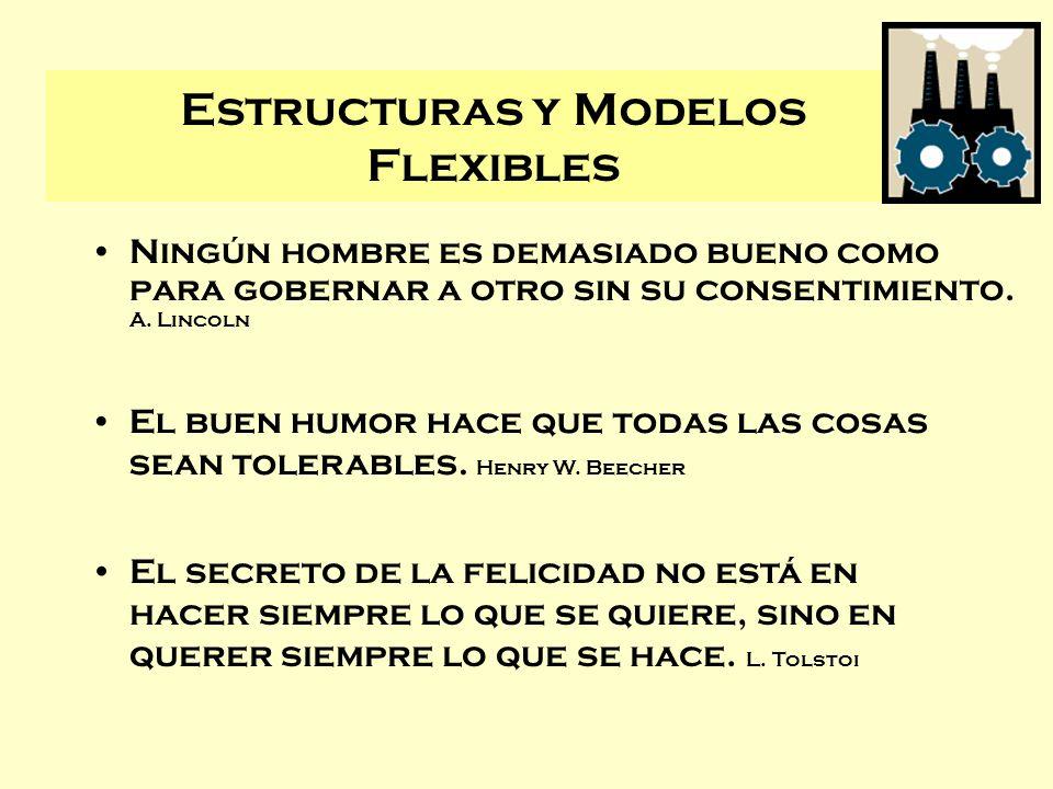 Estructuras y Modelos Flexibles