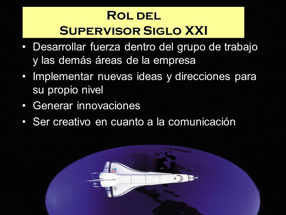 Rol del Supervisor Siglo XXI