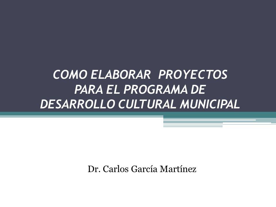 Dr. Carlos García Martínez