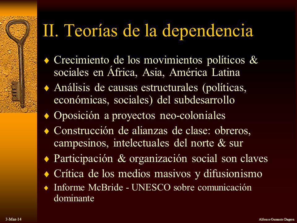 II. Teorías de la dependencia