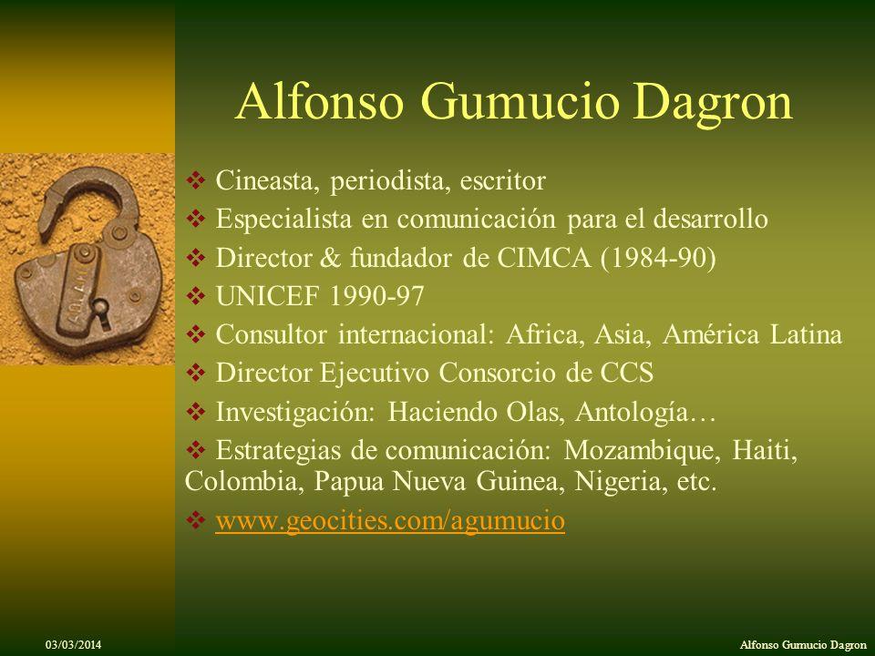 Alfonso Gumucio Dagron