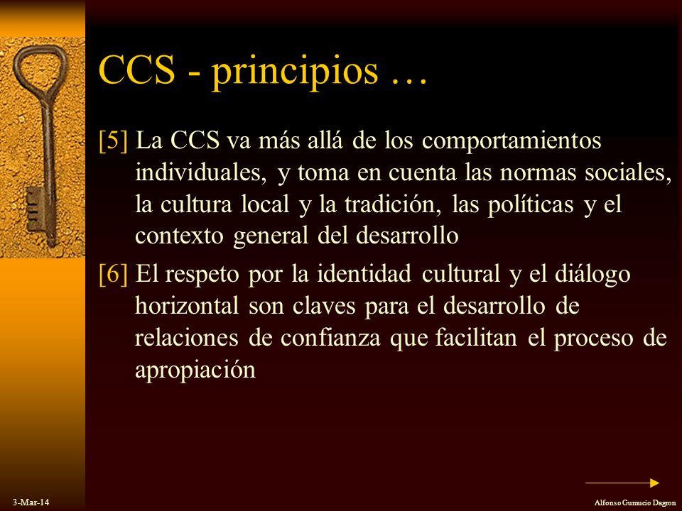 CCS - principios …