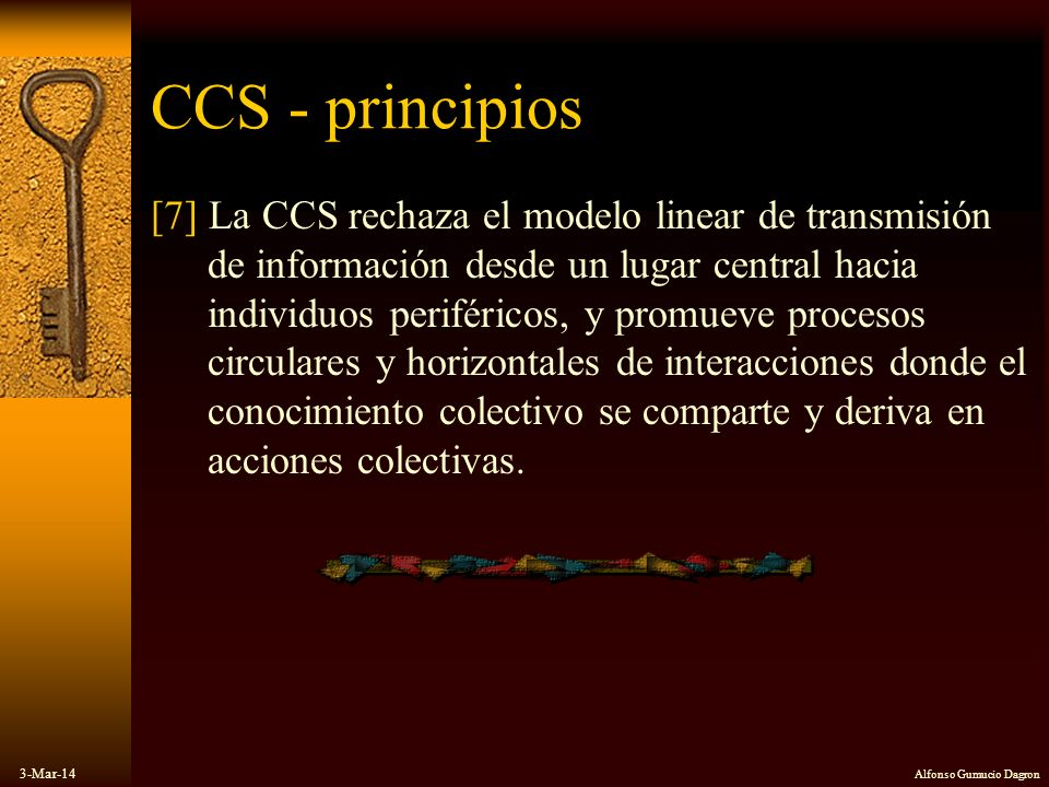 CCS - principios