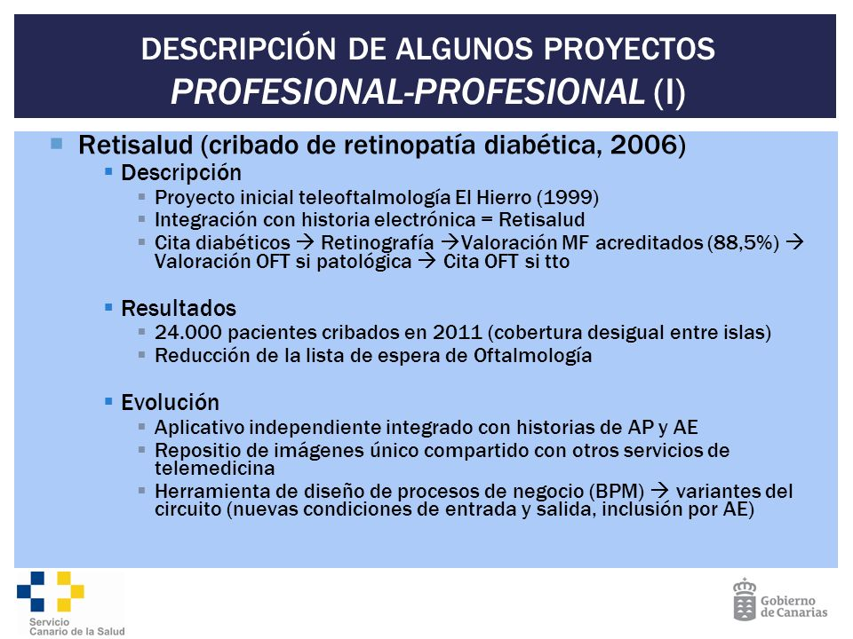 DESCRIPCIÓN DE ALGUNOS PROYECTOS PROFESIONAL-PROFESIONAL (I)