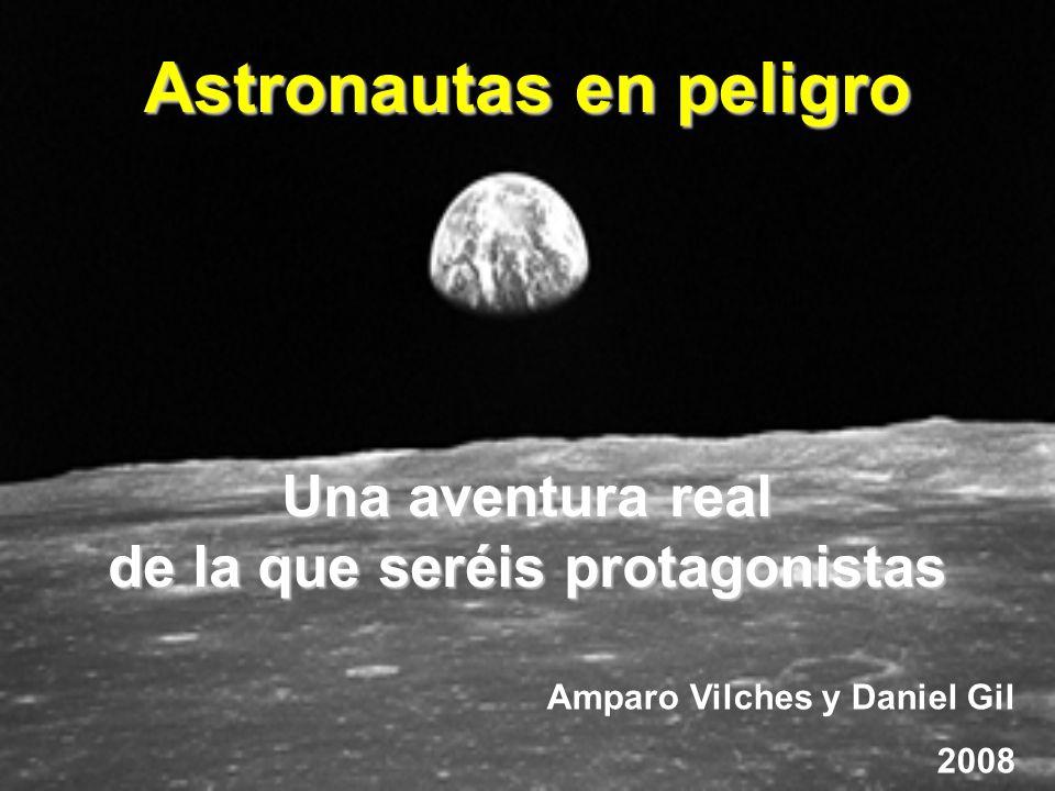 Astronautas en peligro de la que seréis protagonistas