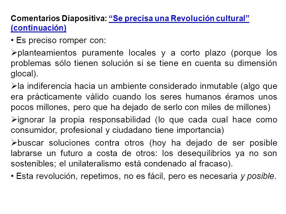 Esta revolución, repetimos, no es fácil, pero es necesaria y posible.