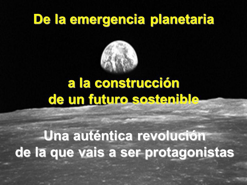 De la emergencia planetaria