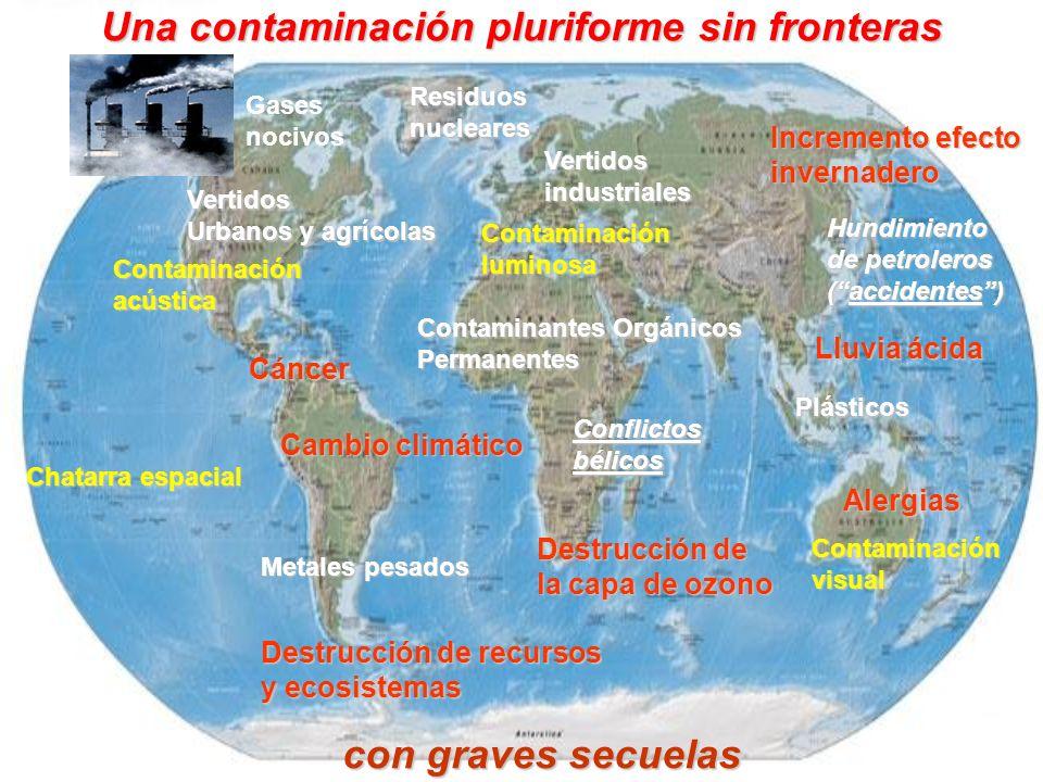 Una contaminación pluriforme sin fronteras