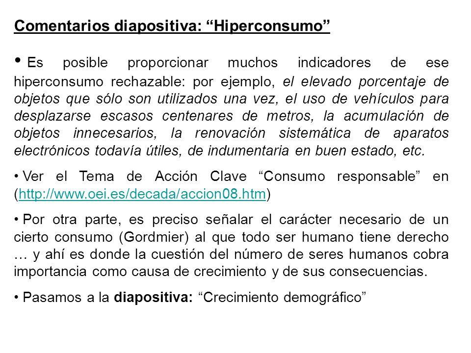 Comentarios diapositiva: Hiperconsumo