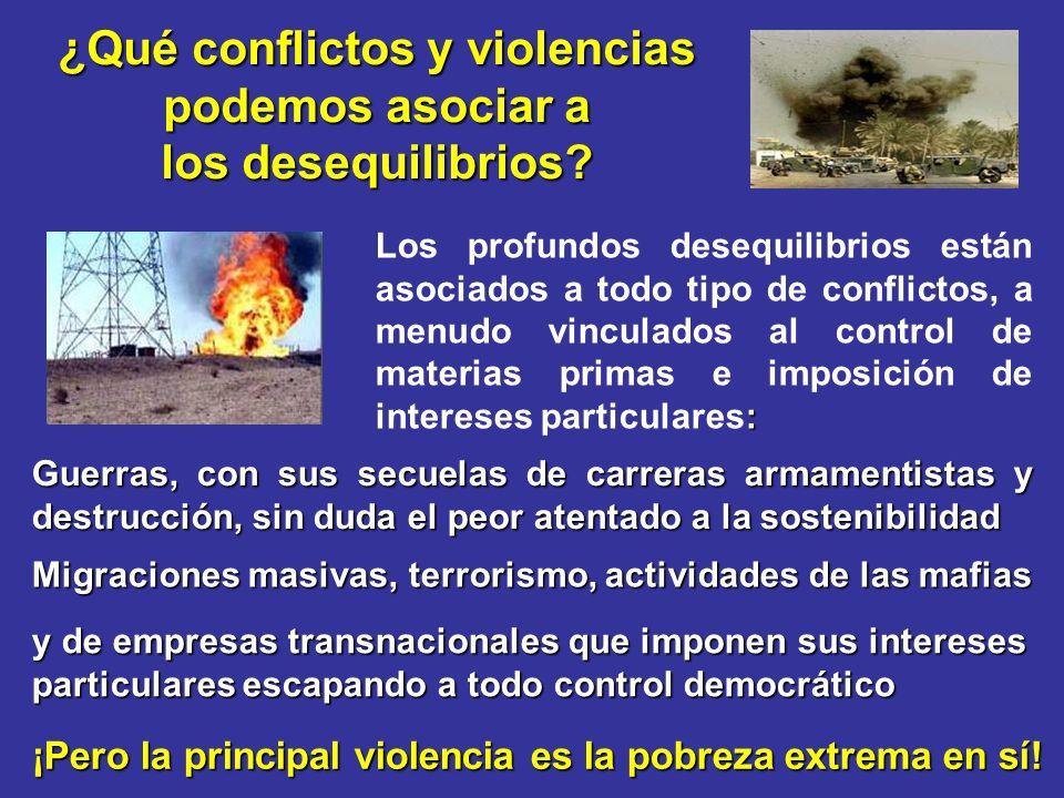 ¿Qué conflictos y violencias podemos asociar a