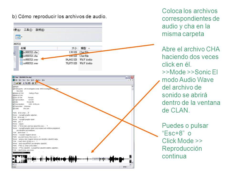 Puedes o pulsar Esc+8 o Click Mode >> Reproducción continua
