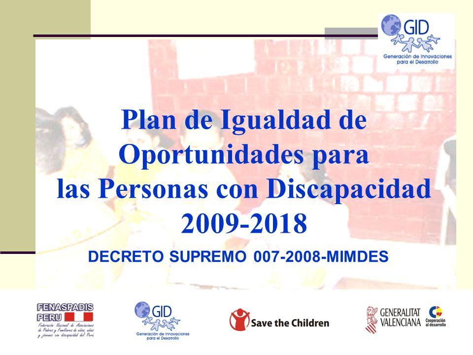 DECRETO SUPREMO 007-2008-MIMDES
