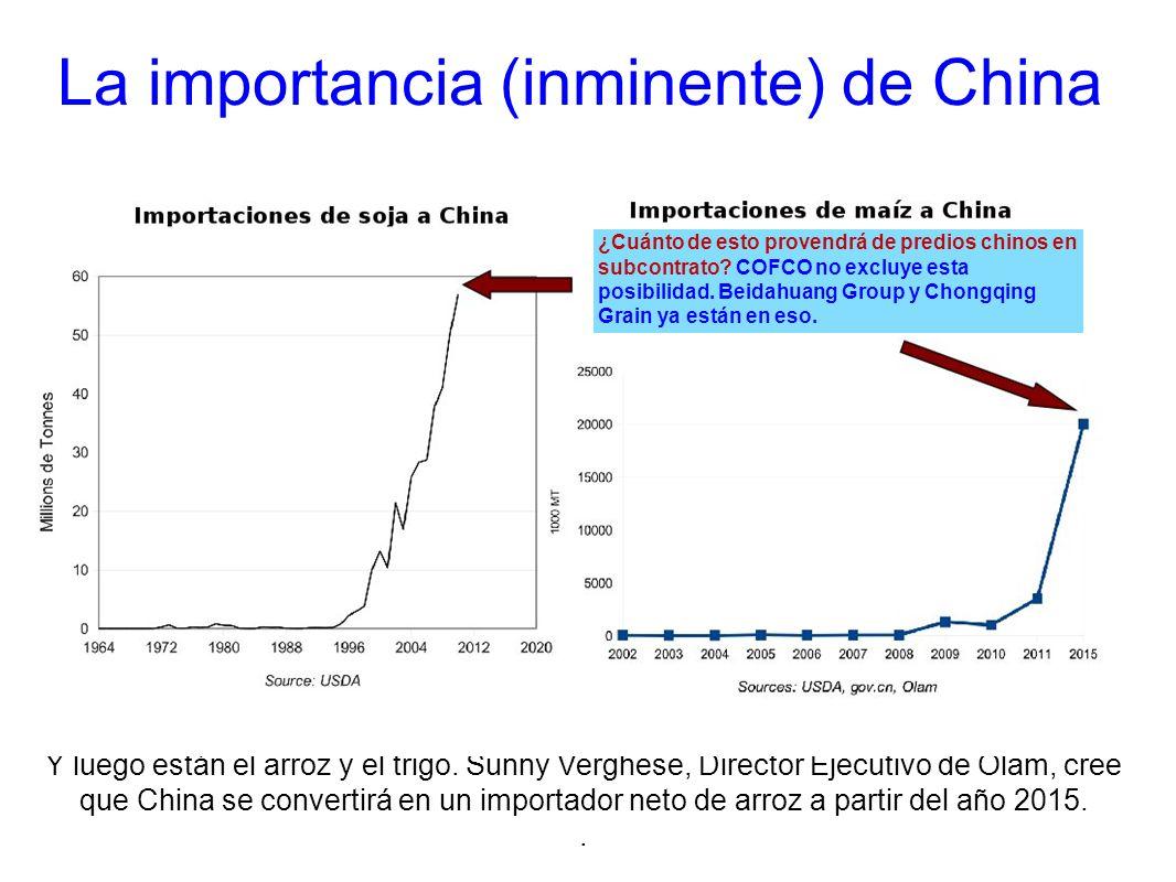 La importancia (inminente) de China
