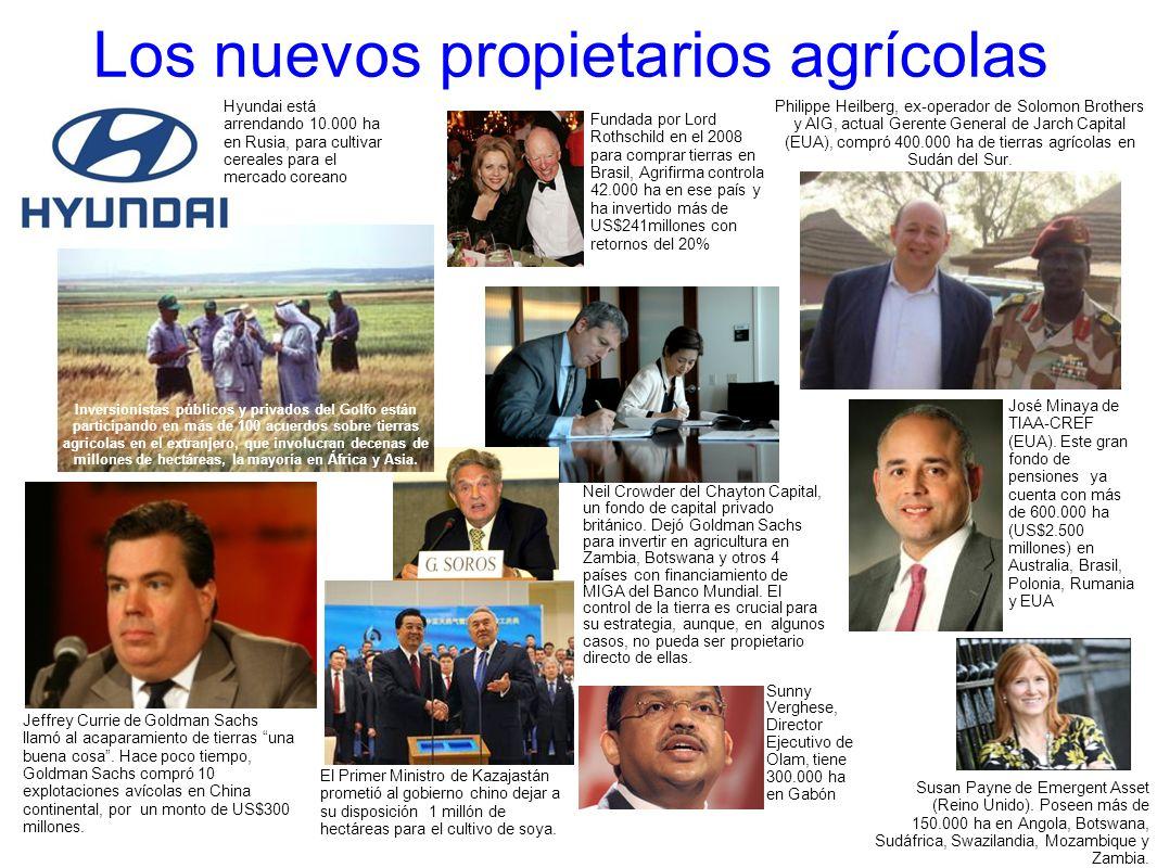 Los nuevos propietarios agrícolas