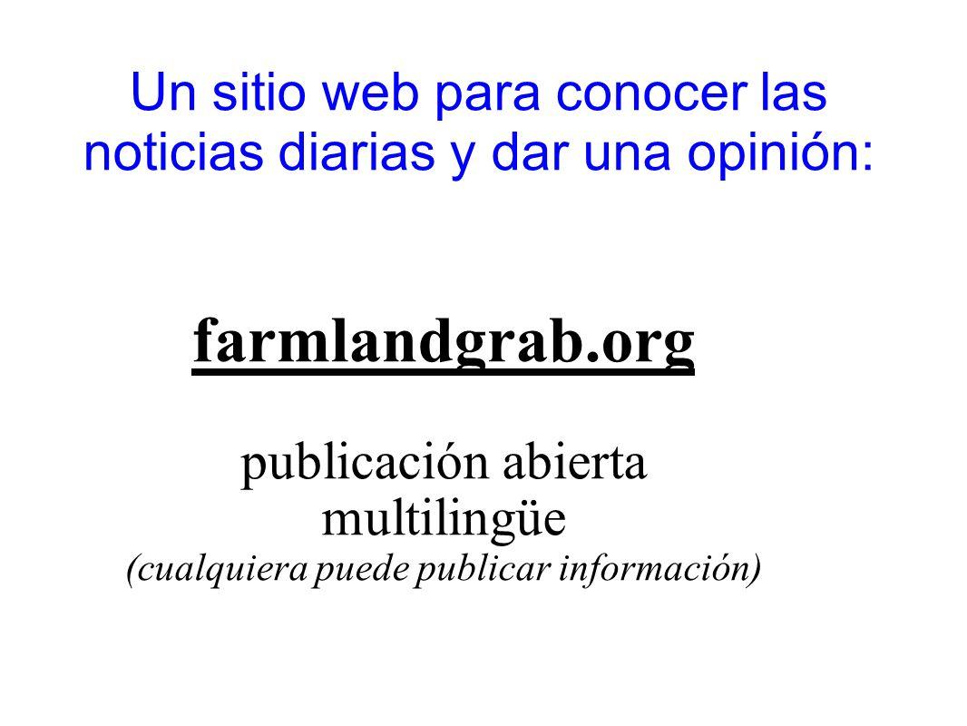 Un sitio web para conocer las noticias diarias y dar una opinión: