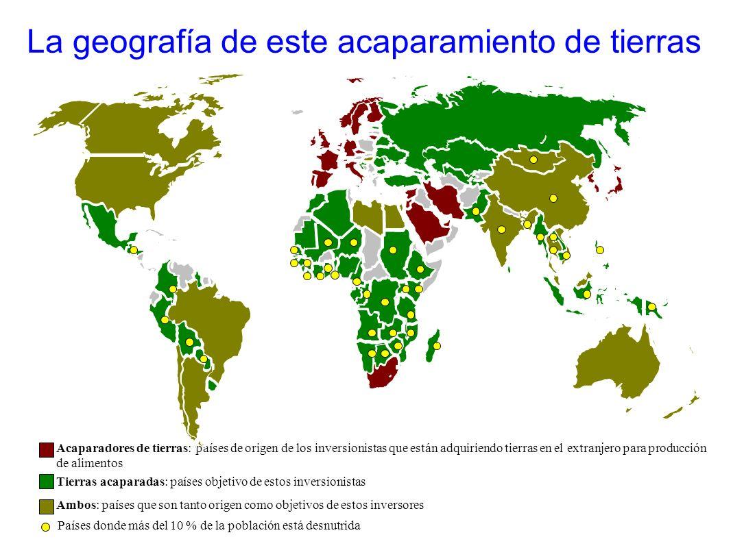 La geografía de este acaparamiento de tierras