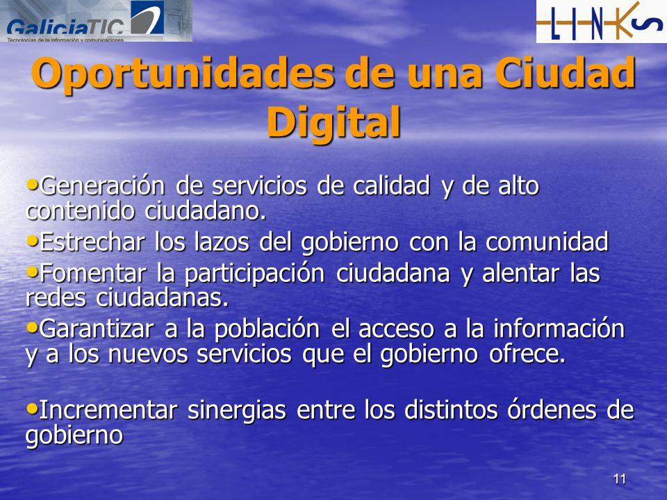 Oportunidades de una Ciudad Digital
