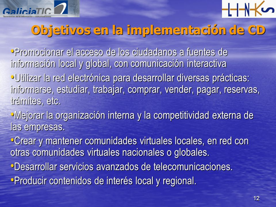 Objetivos en la implementación de CD