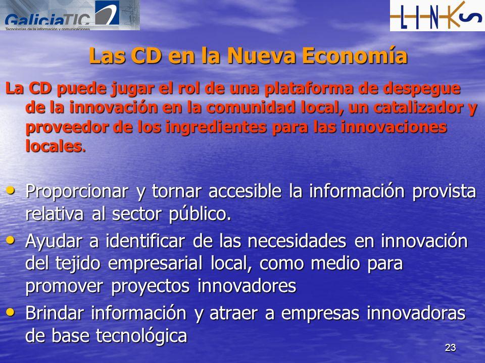 Las CD en la Nueva Economía