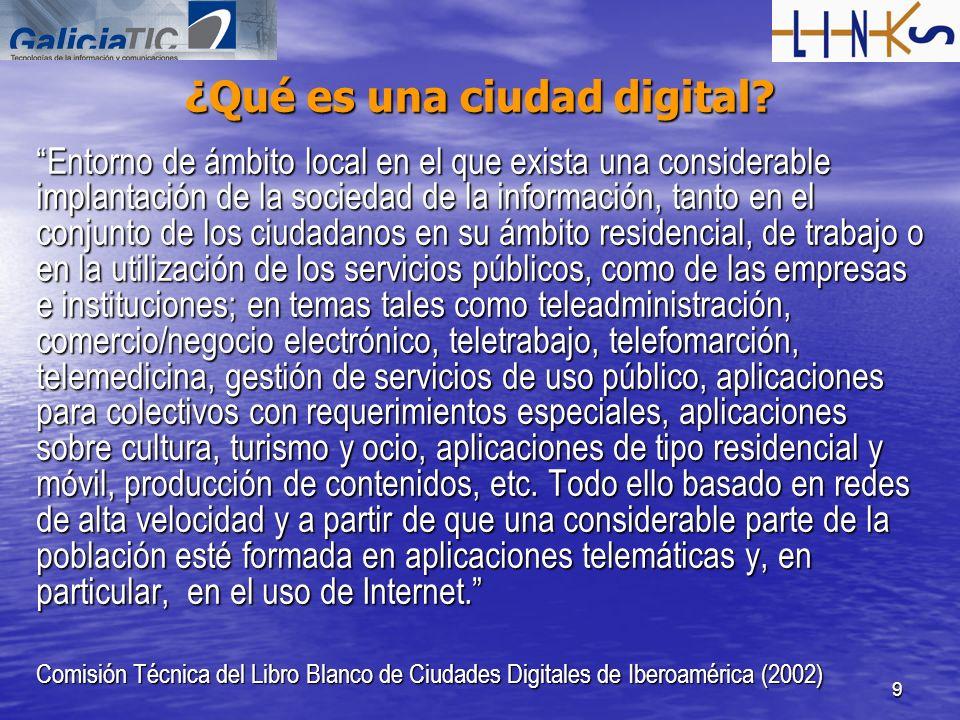 ¿Qué es una ciudad digital