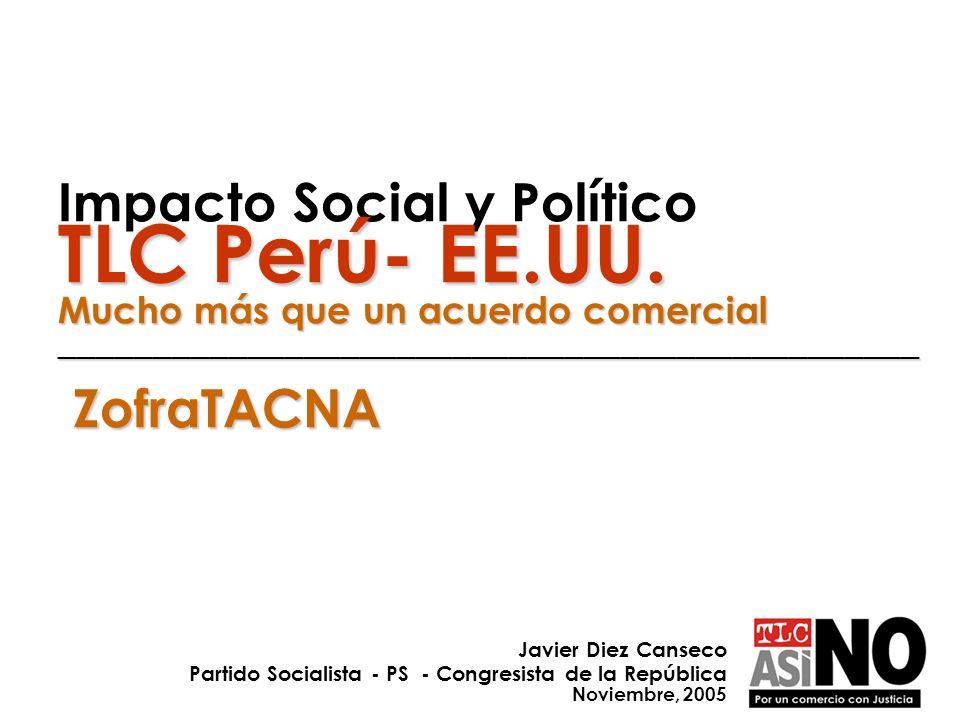 Impacto Social y Político TLC Perú- EE. UU