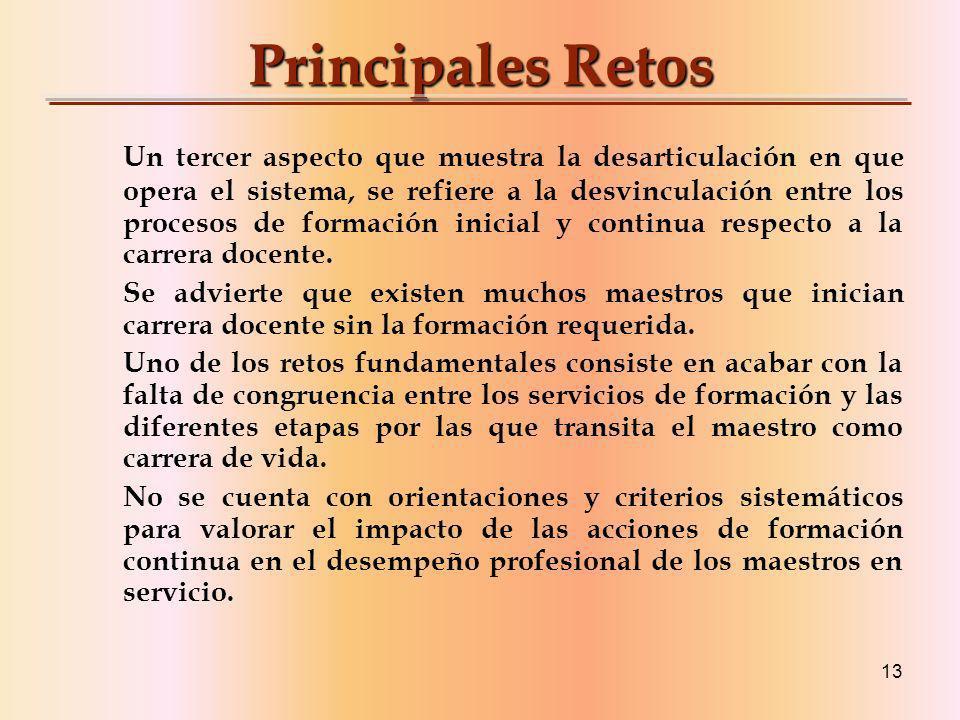 Principales Retos
