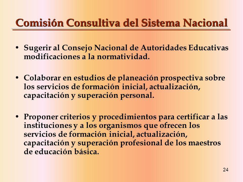 Comisión Consultiva del Sistema Nacional