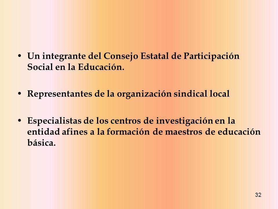 Un integrante del Consejo Estatal de Participación Social en la Educación.