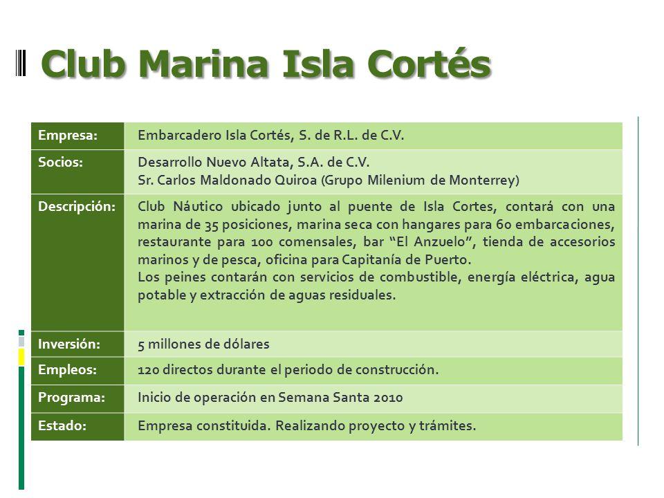 Club Marina Isla Cortés