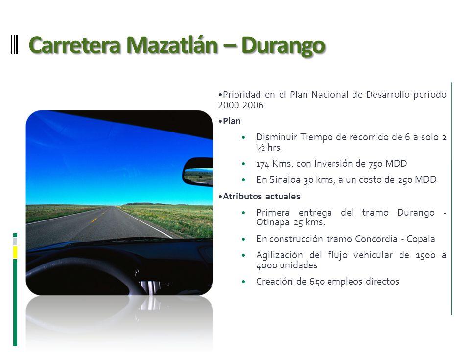 Carretera Mazatlán – Durango