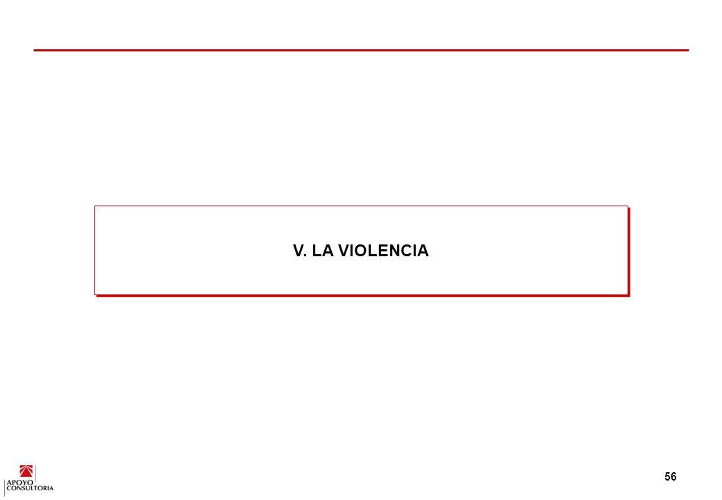 V. LA VIOLENCIA
