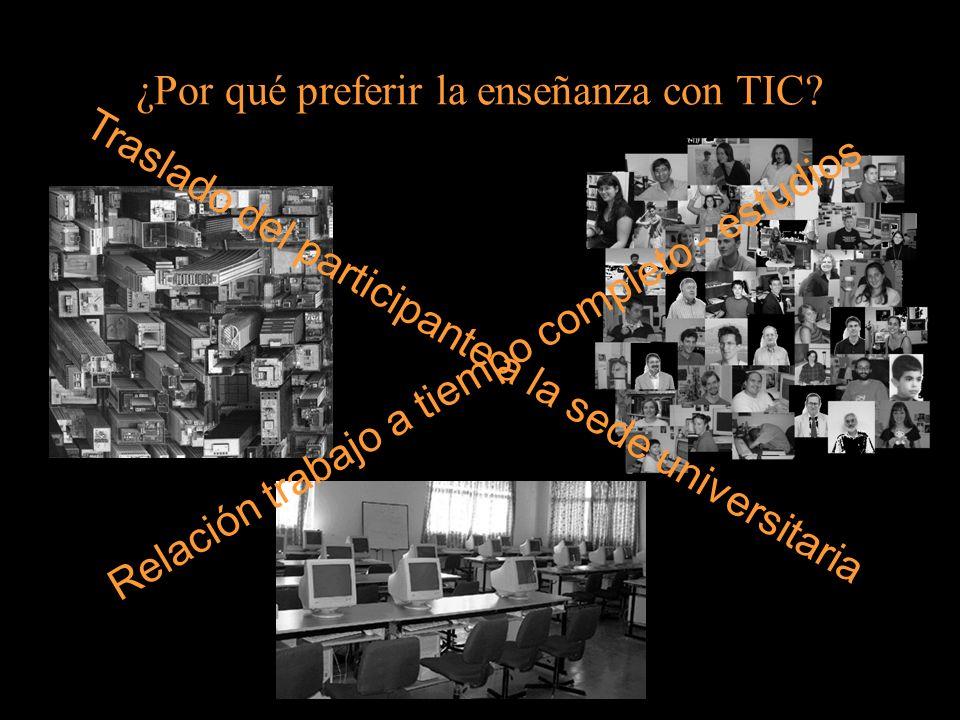 ¿Por qué preferir la enseñanza con TIC