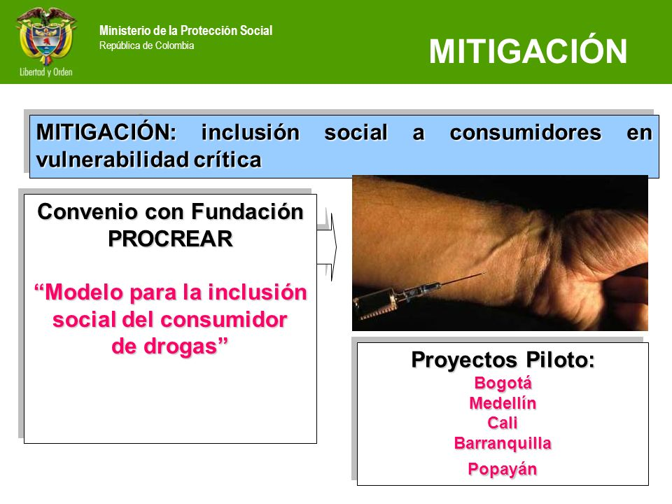 MITIGACIÓN MITIGACIÓN: inclusión social a consumidores en vulnerabilidad crítica. Convenio con Fundación PROCREAR.